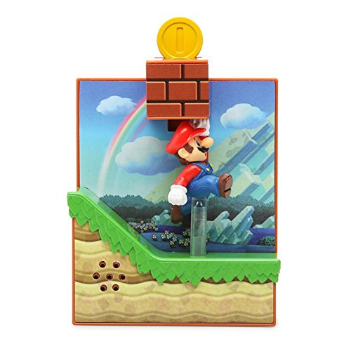 Maruka New Super Mario Bros.U 10 Coins Block Action Sound Figure