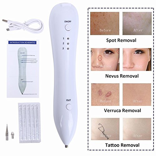 Skin Tag Remover, Spot Eraser Pro for All Kinds of Skin Tags - Portable Safety USB Rechargeable - [ Sold by LeshionLife ] !!! by LeshionLife