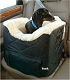 Snoozer Lookout II Dog Car Seat – Small/Black Quilt For Sale
