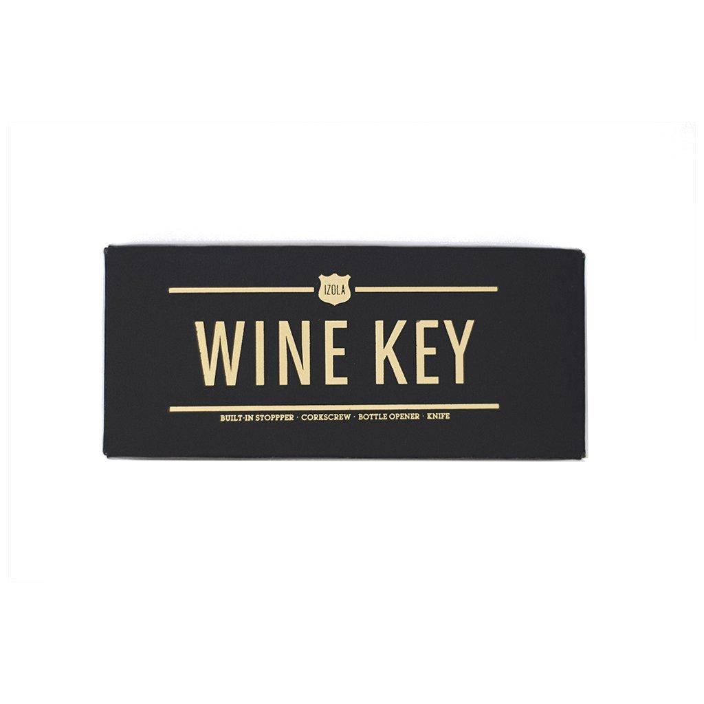 Izola Wine Key Bottle Opener Multi-Tool