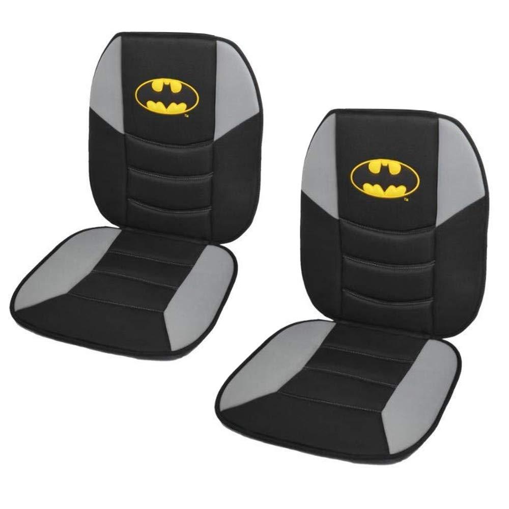 Car Sideless Seat Covers DC Batman Detachable Cape Front Set Auto Truck SUV Van