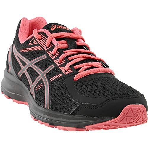 ASICS Women's Jolt Running Shoe - T7K8N.9097 (Black/Carbon/Peach - 7.5)