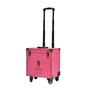 Amazon.com: Qnlly maleta de equipaje profesional de manicura ...