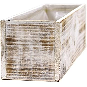 Amazon Koyal Wholesale Square Cube Shabby Chic Wood Vase Pack