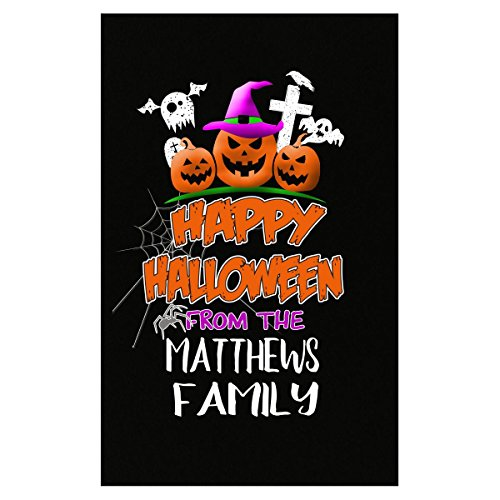 Prints Express Happy Halloween from Matthews Family Trick Or Treating - Poster