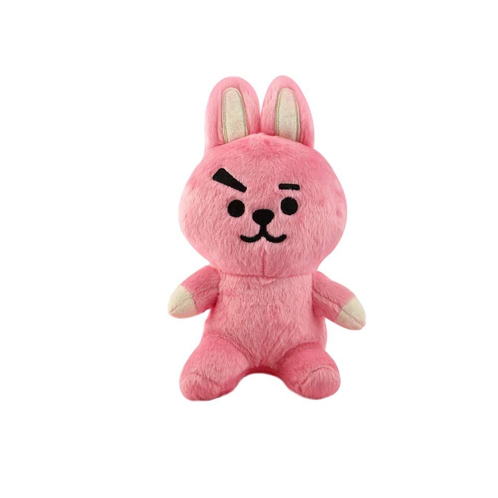 Binwwede Cute Star Fans Plush Doll 8 Inches Stuffed Animal Toy Mini Cushion Stuffed Pillow (Pink)