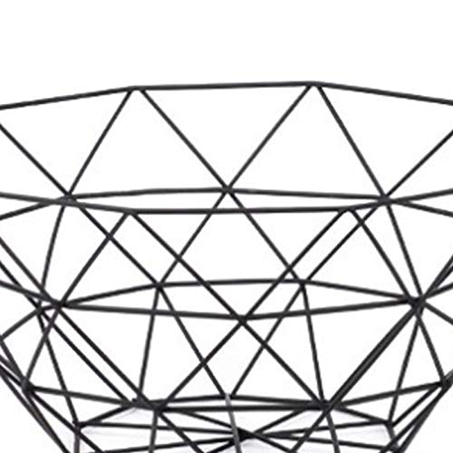 MoGist Fruit Basket Fruit Bowls Storage Stainless Steel Wire Snacks Storage Basket Home Kitchen Art Decoration Fruit Basket, 26 cm - Copper Plated (Golden) by MoGist (Image #8)