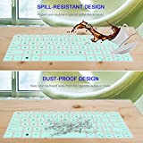 [2 Pcs] Keyboard Cover Skin for DELL XPS 13 9380