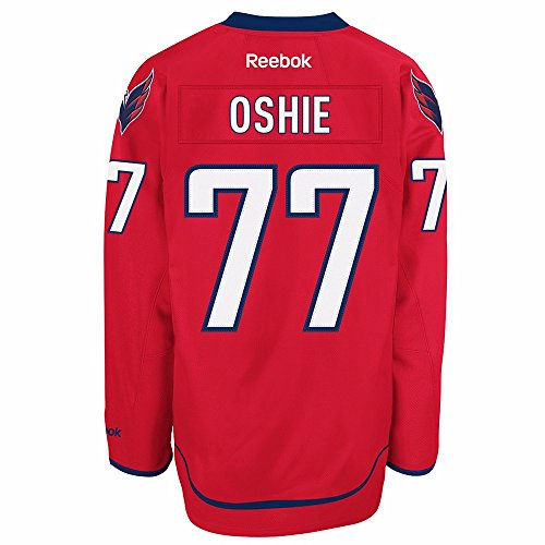 Reebok T.J. Oshie Washington Capitals Red Premier Jersey (XXX-Large)