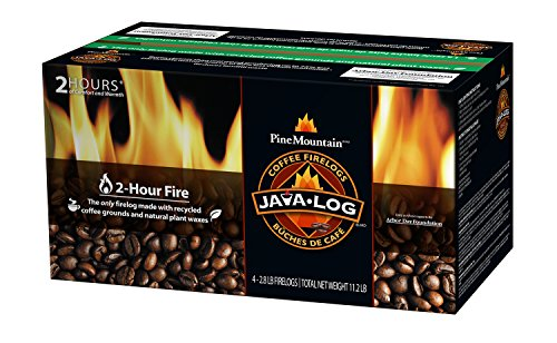 Pine Mountain Java-Log 2-Hour Firelogs, 11.2 lb