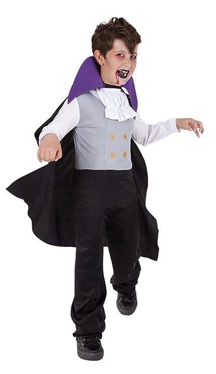 Rubies - Disfraz de Drácula para niños, 5-7 años (12508-M)