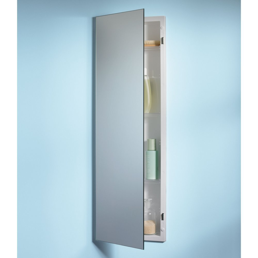 Amazon.com: Jensen 735M34WH Specialty Pillar Single-Door Recessed ...