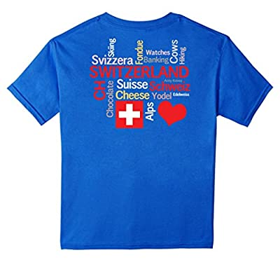My Favorite Swiss Things Switzerland T-Shirt