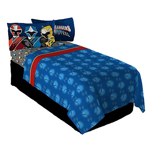 power rangers bed sheets - 1