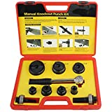 IBOSAD Manual Knockout Hole Punch Driver Kit 1/2 to 2 inch Electrical Conduit Hole Cutter Set KO Tool Kit