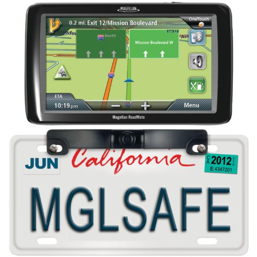 "Magellan RM9055SXBUC Magellan Rm9055sxbuc Roadmate(r) 9055lm 7"" GPS Device with Free Lifetime Map & Traffic Updates & Back-up Camera"