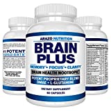 Brain Boost Nootropics for Memory, Focus, Clarity, Concentration, Mood, Alertness, Sharp Mind, Cognitive