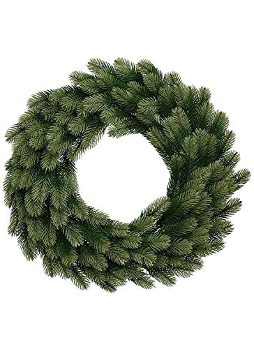 KING OF CHRISTMAS 24 Inch Royal Fir Wreath Unlit