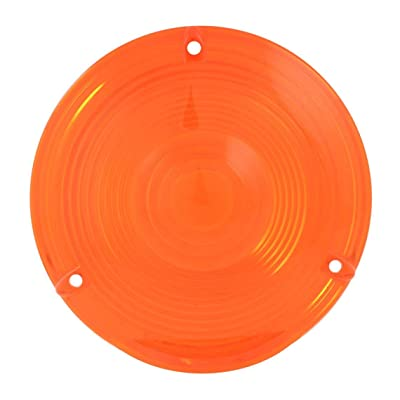 "Grand General 80301 Light (Amber Plastic Lens for 4"" Double Face Pedestal): Automotive"