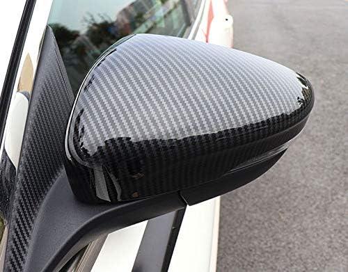 HIGH FLYING para Focus 2019 5 puertas//Sportbreak Embellecedor Espejos laterales Color de fibra de carbono 2 piezas Pl/ástico ABS