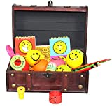 Pirate Treasure Chest Full of Toys (50 Toy Pcs) by Decorative Gifts