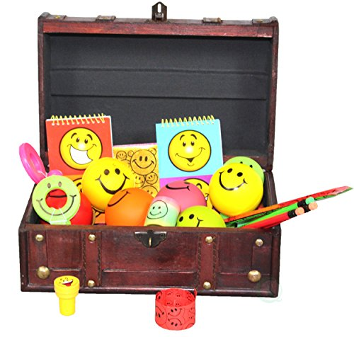 Pirate Treasure Chest Full of Toys (50 Toy Pcs) by Decorative Gifts by Decorative Gifts (Image #1)