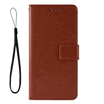 Cover for Samsung Galaxy A40 Leather Kickstand Extra-Durable Business Mobile Phone Cover Card Holders with Free Waterproof-Bag Business Samsung Galaxy A40 Flip Case