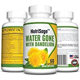 Premium Diuretic Water Pill With Dandelion – Fights Water Retention & Bloating Without The Drugs Found in Medicinal Pills – Pure & Potent Choice of Diuretics – Natural & Safe - Order Risk Free.