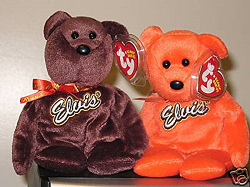 Ty Beanie Baby Set ~ COCO PRESLEY the Elvis Presley Bears ~ MINT with MINT TAGS ,#G14E6GE4R-GE 4-TEW6W208793 Elvis Presley Mint