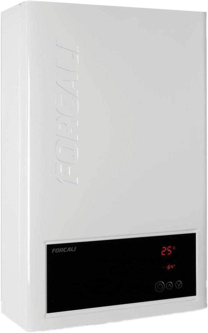 Calentador de agua a gas Natural CÁMARA ESTANCA CON TIRO FORZADO 12 litros Forcali