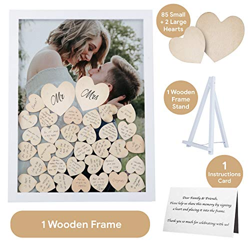 GLM Wedding Guest Book Alternative with Drop Top