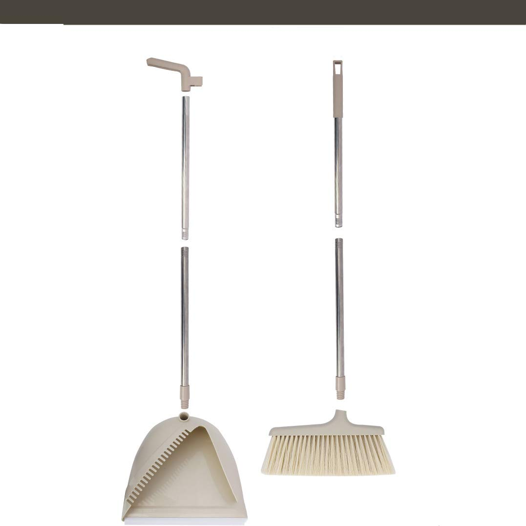 Upright Sweep Set, Broom Comb, Clean Home Kitchen Room Office Lobby Floor BERID