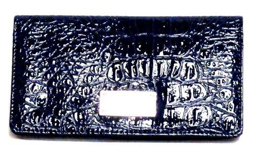 Nine West Slim Wallet-Deep Croco