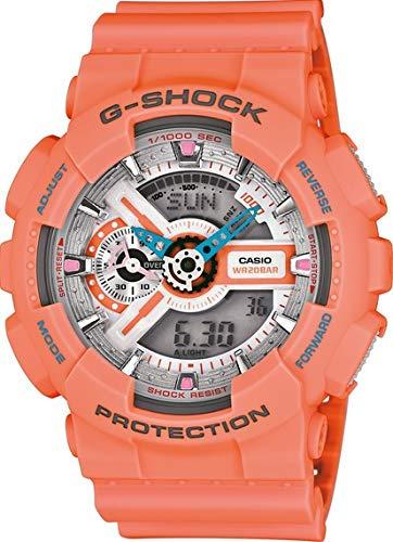 Casio Reloj Analógico-Digital para Hombre de Cuarzo con Correa en Plástico GA-110DN-4ADR: Amazon.es: Relojes