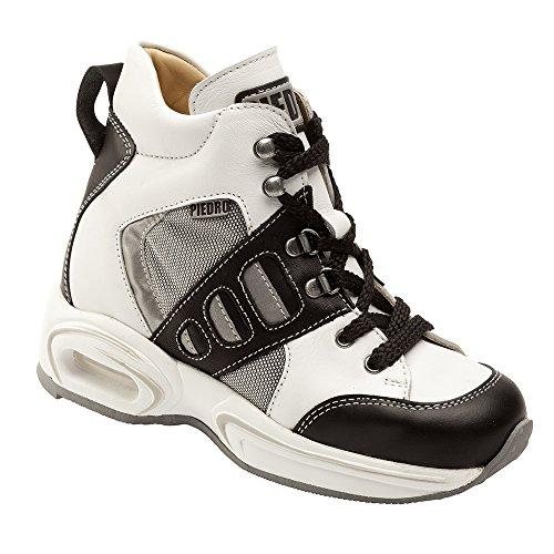 Piedro  Piedro Children's Sports Boots AIR 2113, Sandales Compensées mixte enfant - Blanc - Blanc/noir, 31 EU