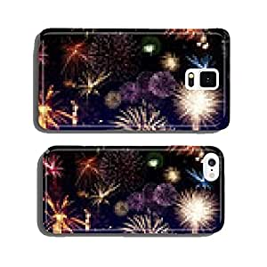 Colorful firerworks cell phone cover case iPhone5
