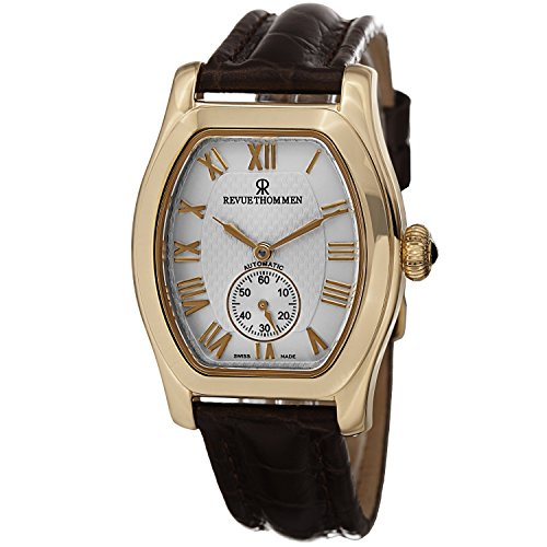 Revue Thommen Special Tonneau Women's Yellow Gold-tone Automatic Swiss Watch 12015.2512