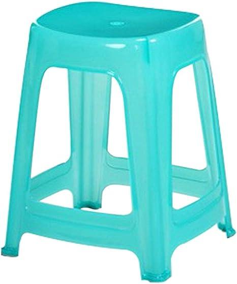 Sgabelli In Plastica Trasparente.Uiregghrieugiojje Sgabello Di Plastica Di Spessore Sedia Per Il