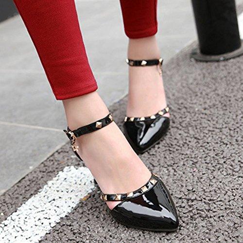 Chaussures Aisun noires Fashion femme yMaFQ