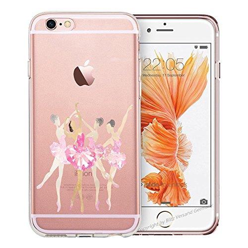 M1 Xa1 Transparent versand Ballerina En Tpu germany Cartoon Rosa Blitz® Xperia Sony 3 Coque Blitz nbsp;plus Comic a7w0xqqd