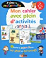 J'aime la maternelle - Mon cahier avec plein d'activités d'anglais 3-6 ans + CD par Touati