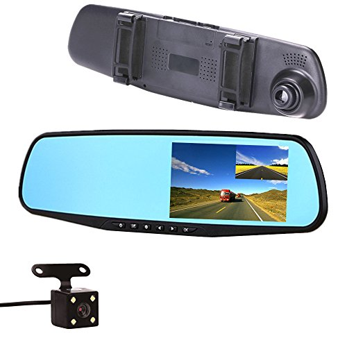 fangcheng Car Camera Rear view Mirror Video Recroder 4.3