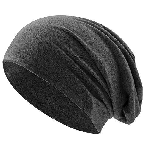UPhitnis Long Skull Cap Beanie - Daily Soft Beanie Hat For Men & Women without (Knit Skull Cap Pattern)