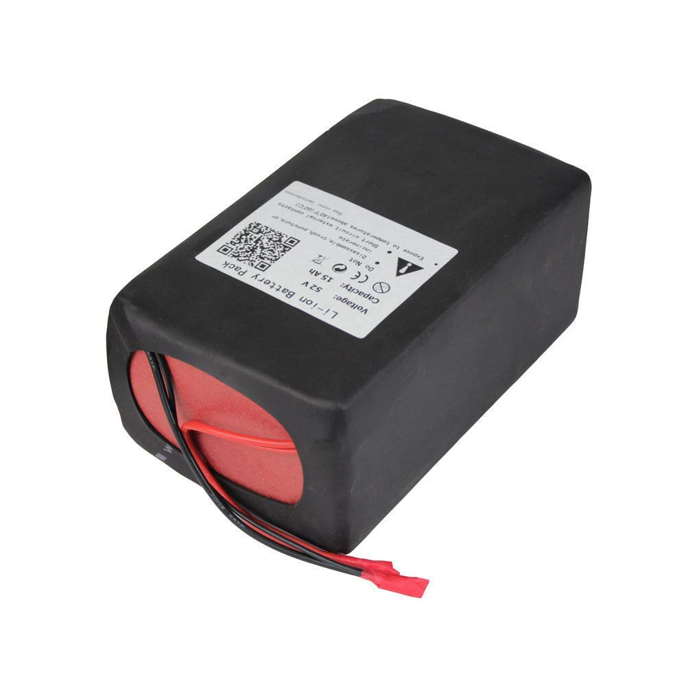 52V 15AH Ebike Lithium ion Battery Pack for 500W 750W Electric Bike Scooter 58.8V 3A Charger + 50A BMS by BtrPower (Image #7)