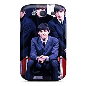 TrevorBahri Samsung Galaxy S3 Comfortable Phone Hard Covers Provide Private Custom Stylish In 1965 The Beatles Concert Tour The United States Canada Pattern [Aeo1639Tbpa]