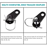 Titanker 2-Pack Bike Bicycle Trailer Coupler