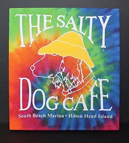 the-salty-dog-cafe-t-shirt-upcycled-to-create-an-original-piece-of-wall-art-the-classic-salty-dog-ca