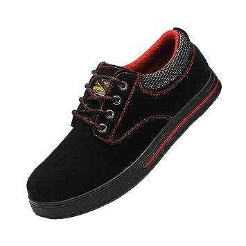 Homyl Zapatos de Seguridad para Hombre Botas Trabajo Correr para Caminar Calzado Deportivo - EU 41