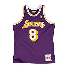 de3dc3d8e89e Mitchell   Ness AUTHENTIC Kobe Bryant 1996-97 Rookie Year Jersey LA Lakers  NBA (S (36)) Apparel