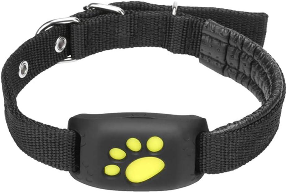 UNbran Collar Inteligente para Perro, Rastreador GPS para Mascotas, Collar de Perro o Gato, Resistente al Agua Función de Devolución de llamada GPS Carga USB Rastreadores GPS para Perros Universales